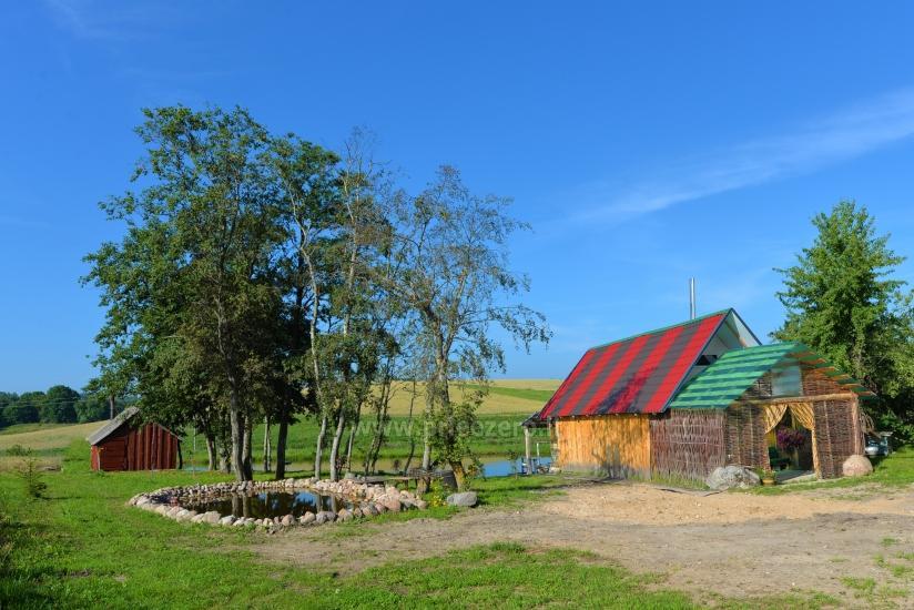 Lauku sēta Stasiuko sodyba Traķu rajonā - 39
