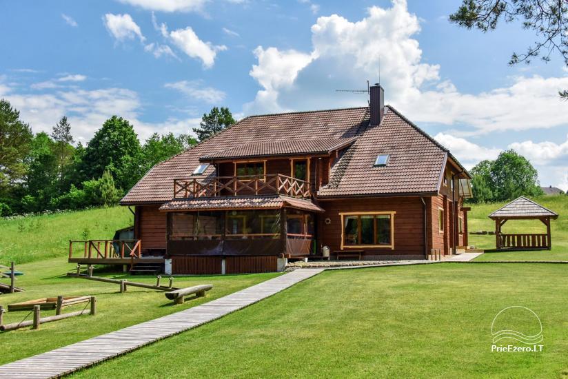 Lauku mājas pie ezera Ignalinas rajona Tundra - 2