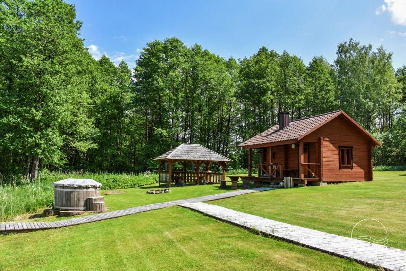 Lauku mājas pie ezera Ignalinas rajona Tundra - 9