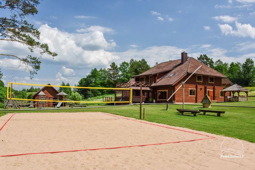 Lauku mājas pie ezera Ignalinas rajona Tundra - 8