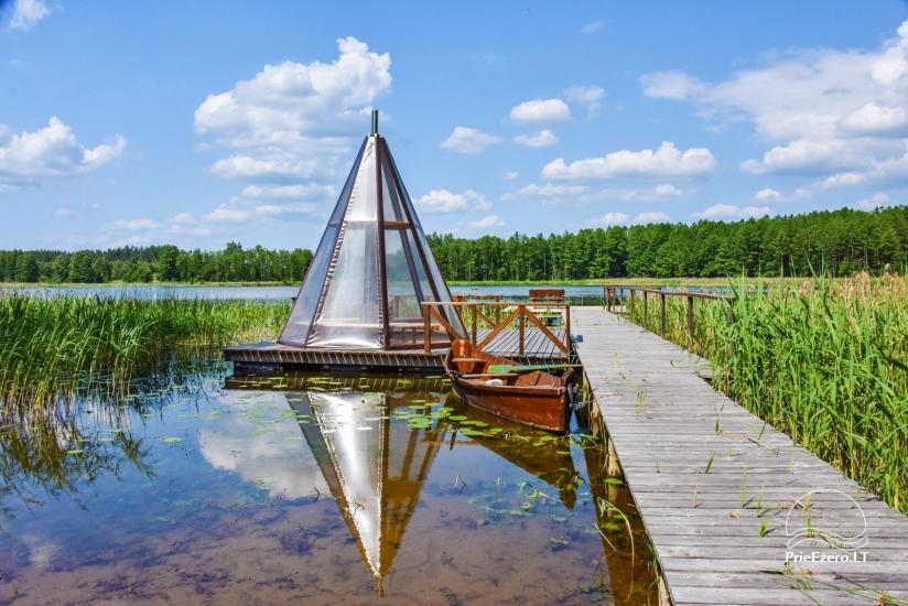 Lauku mājas pie ezera Ignalinas rajona Tundra - 11