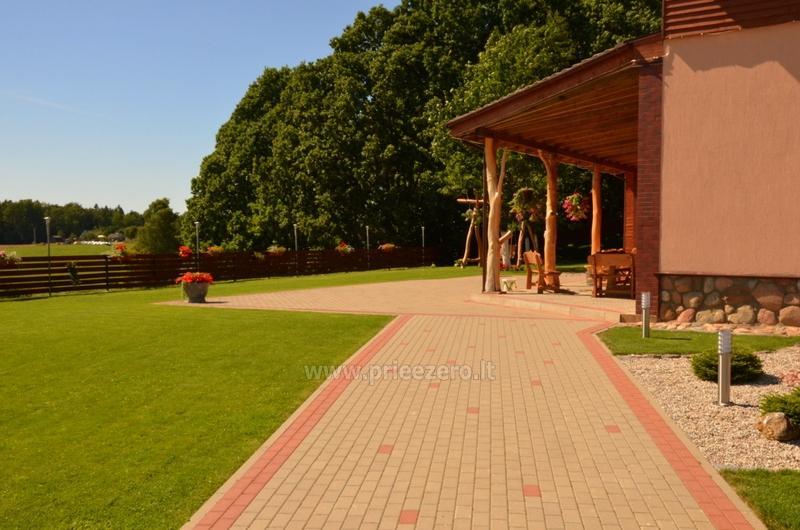Lauku sēta Ąžuolo vartai ar banketu zāli netālu Plunge - 7