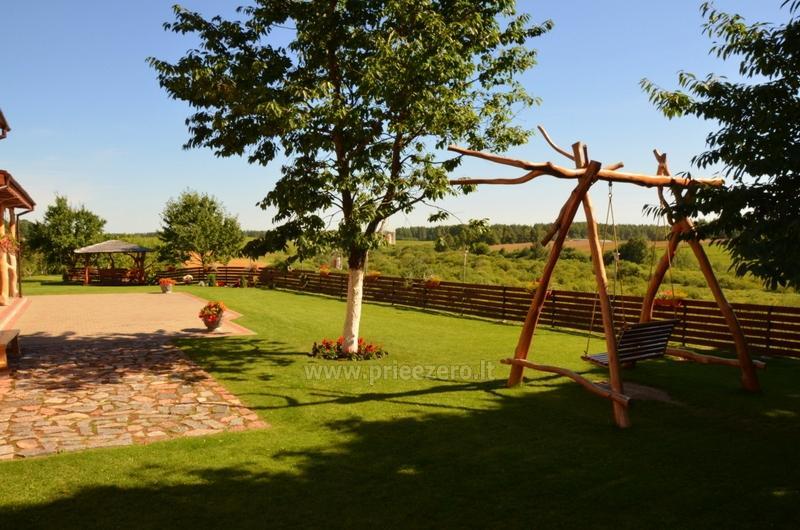 Lauku sēta Ąžuolo vartai ar banketu zāli netālu Plunge - 5