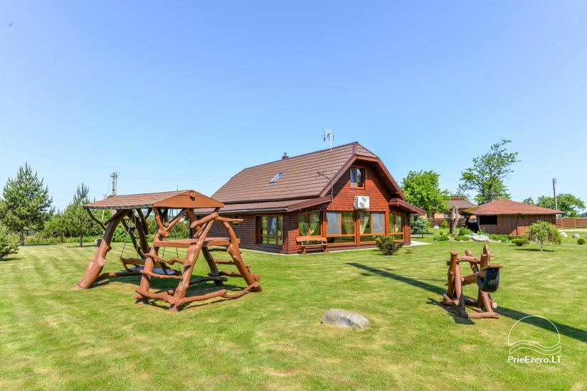 Lauku mājas Plunge platība Andrijauskų sodyba - 10
