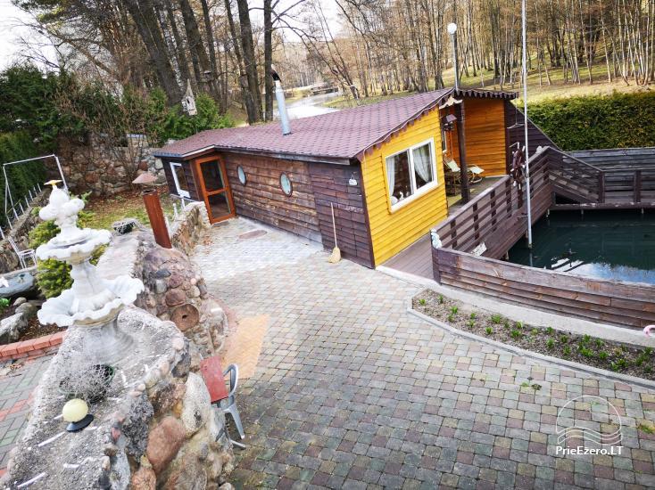 Brīvdienu mājas īre pie upes Ratnycele Lietuvā - 5