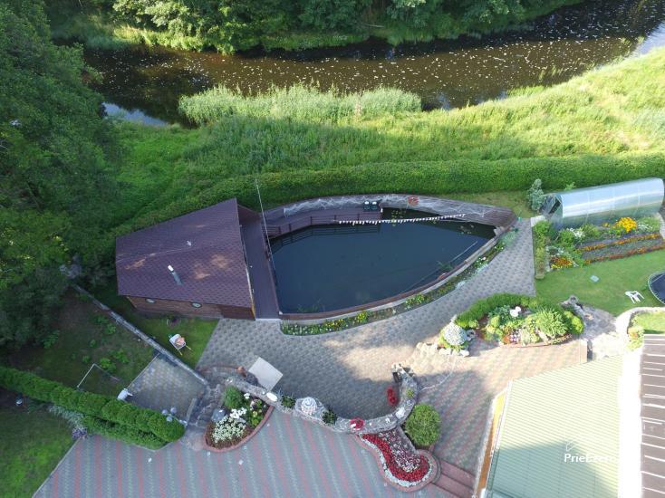 Brīvdienu mājas īre pie upes Ratnycele Lietuvā - 2