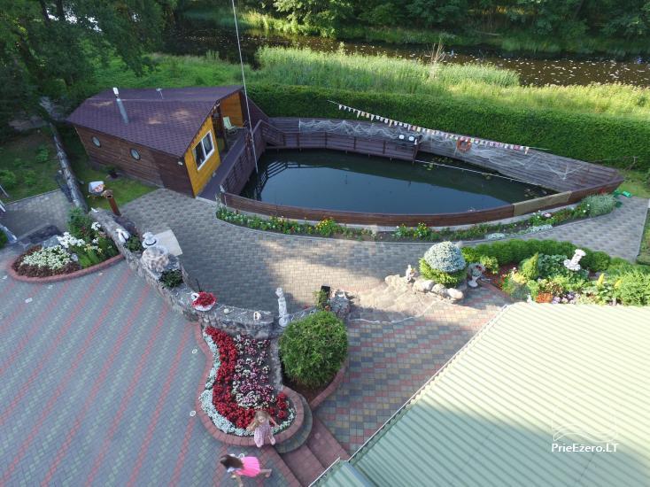 Brīvdienu mājas īre pie upes Ratnycele Lietuvā - 1