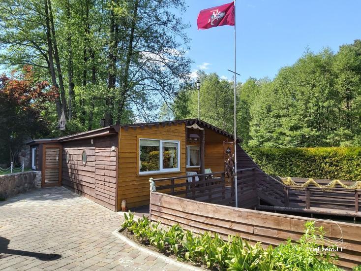 Brīvdienu mājas īre pie upes Ratnycele Lietuvā - 6
