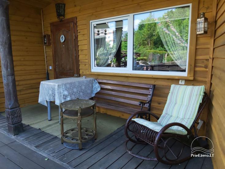 Brīvdienu mājas īre pie upes Ratnycele Lietuvā - 12