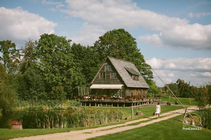 Lauku sēta Viļņā reģionā Žaleso Respublika - 1