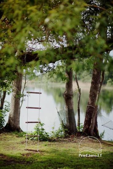 Lauku sēta Viļņā reģionā Žaleso Respublika - 10