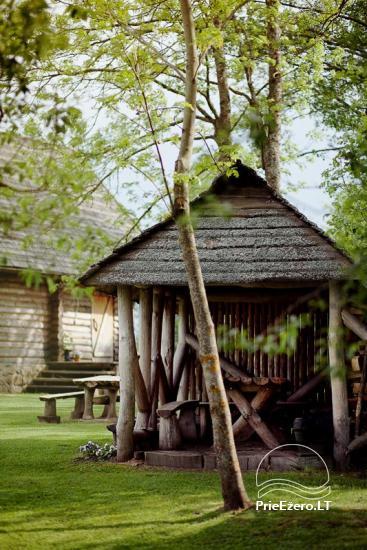 Lauku sēta Viļņā reģionā Žaleso Respublika - 16