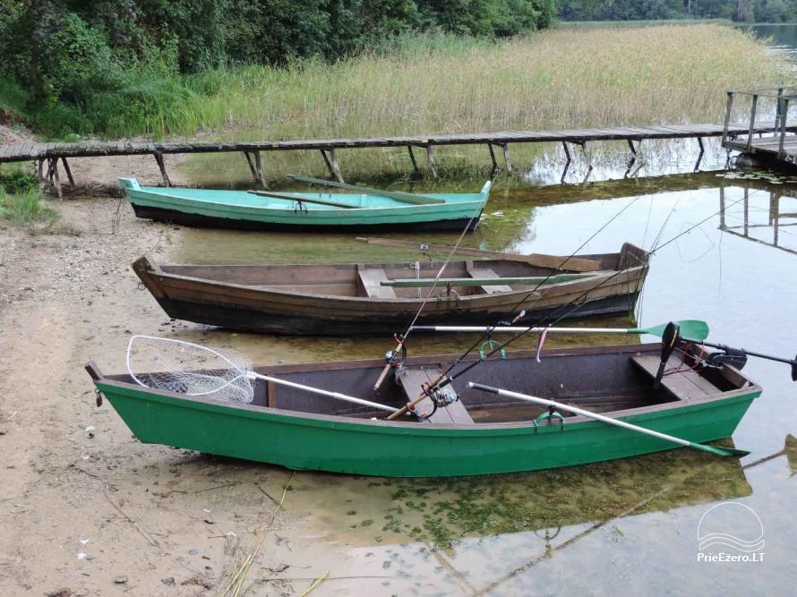 Brīvdienu mājas viensētā Čičiris ezera krastā - Lauryno sodyba - 23