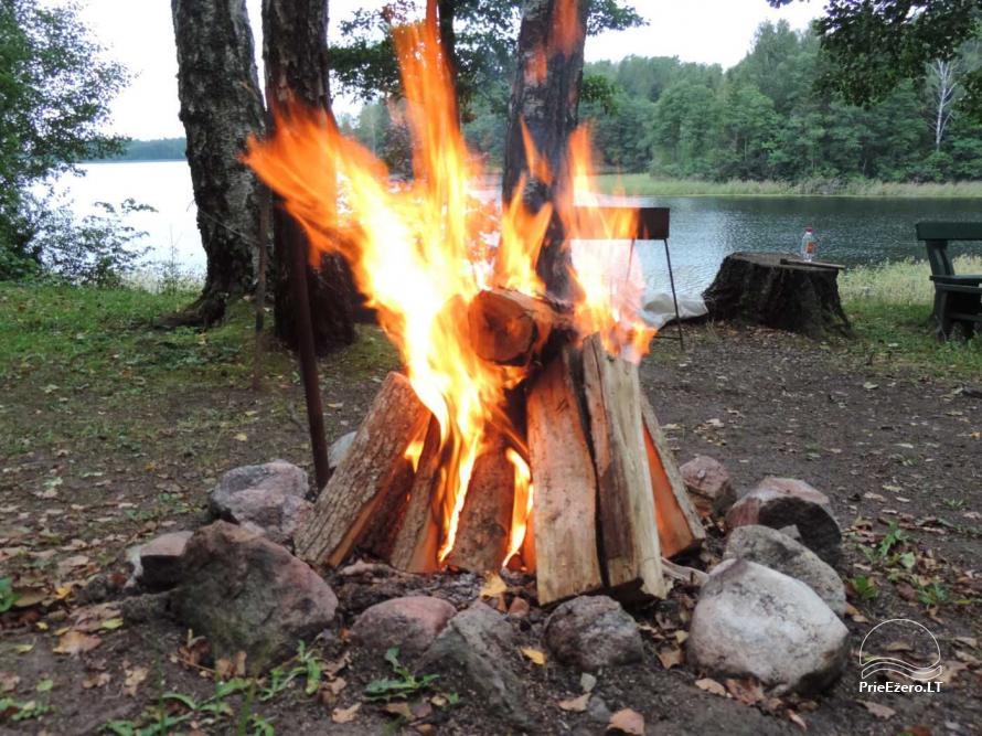 Brīvdienu mājas viensētā Čičiris ezera krastā - Lauryno sodyba - 22