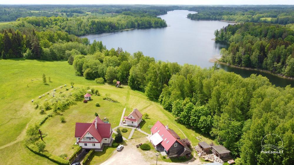 Brīvdienu mājas viensētā Čičiris ezera krastā - Lauryno sodyba - 2