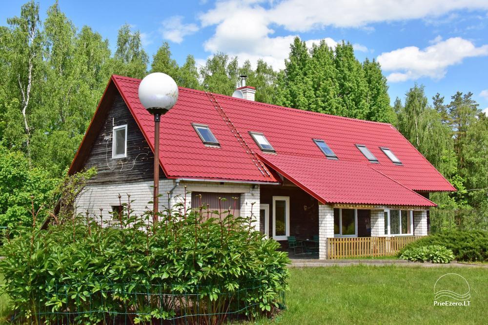 Brīvdienu mājas viensētā Čičiris ezera krastā - Lauryno sodyba - 14