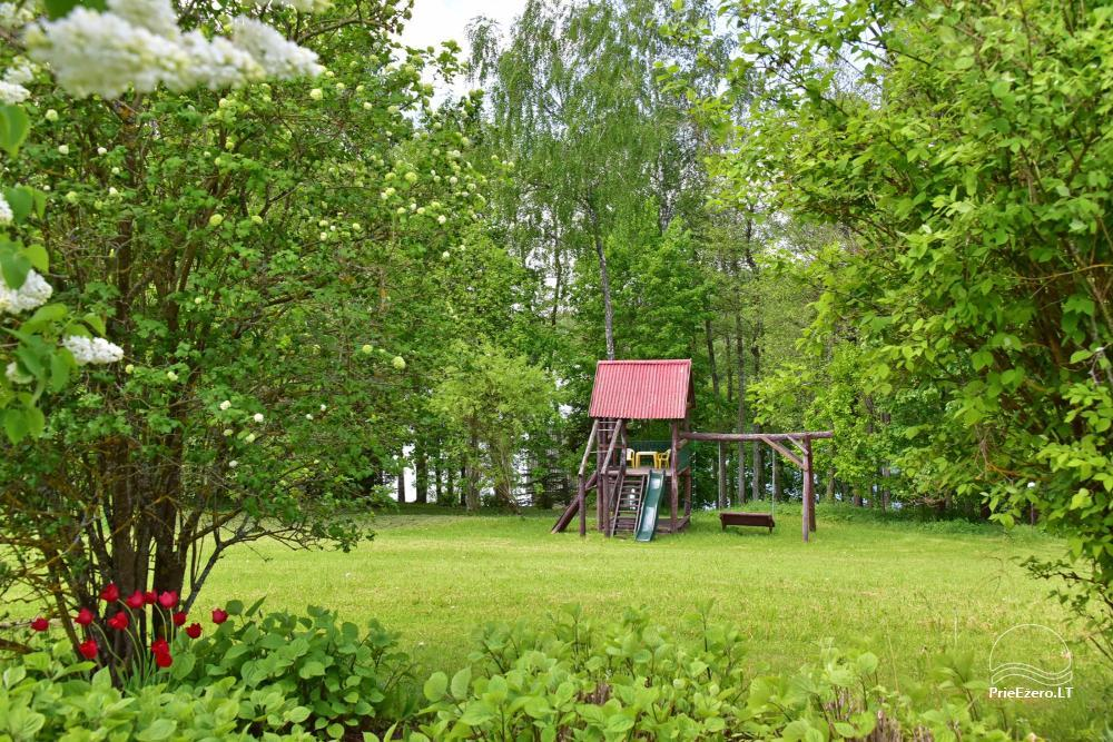 Brīvdienu mājas viensētā Čičiris ezera krastā - Lauryno sodyba - 16