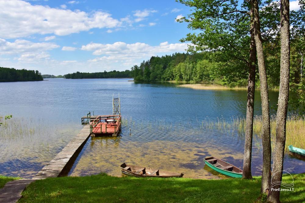 Brīvdienu mājas viensētā Čičiris ezera krastā - Lauryno sodyba - 4