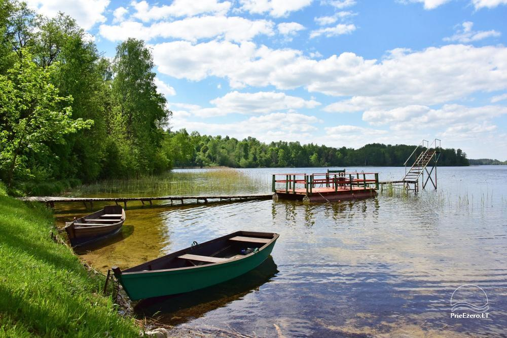 Brīvdienu mājas viensētā Čičiris ezera krastā - Lauryno sodyba - 10
