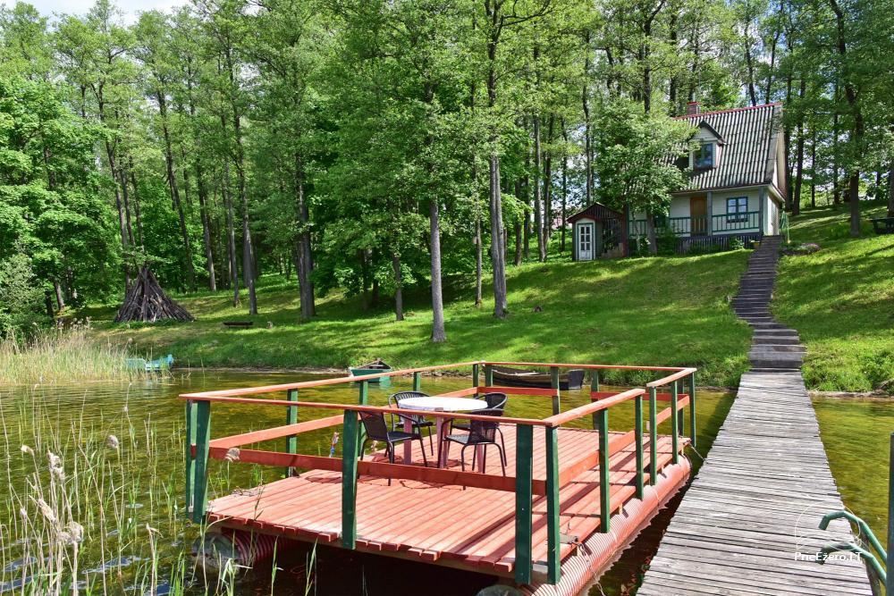 Brīvdienu mājas viensētā Čičiris ezera krastā - Lauryno sodyba - 6