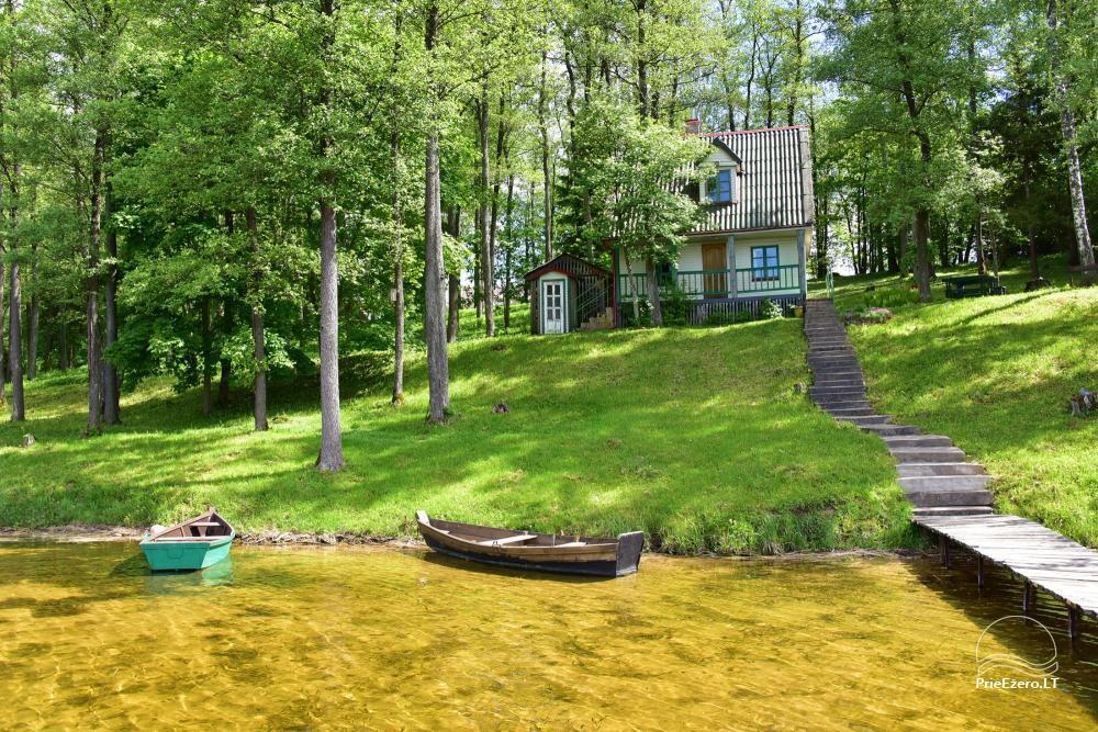 Brīvdienu mājas viensētā Čičiris ezera krastā - Lauryno sodyba - 7