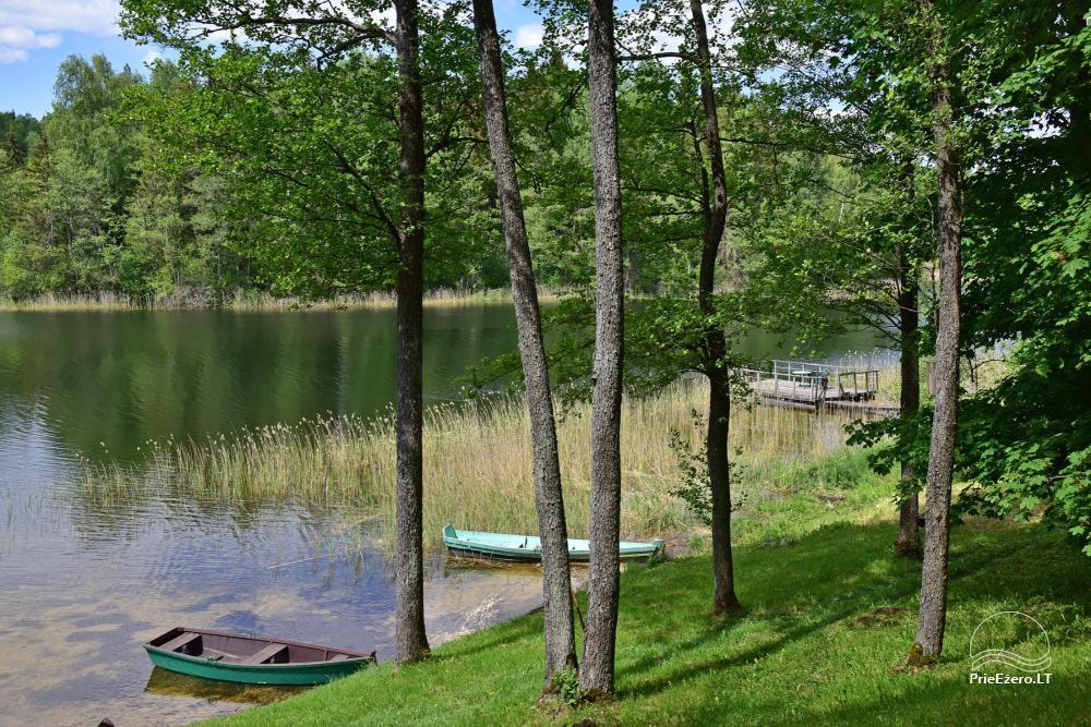 Brīvdienu mājas viensētā Čičiris ezera krastā - Lauryno sodyba - 11