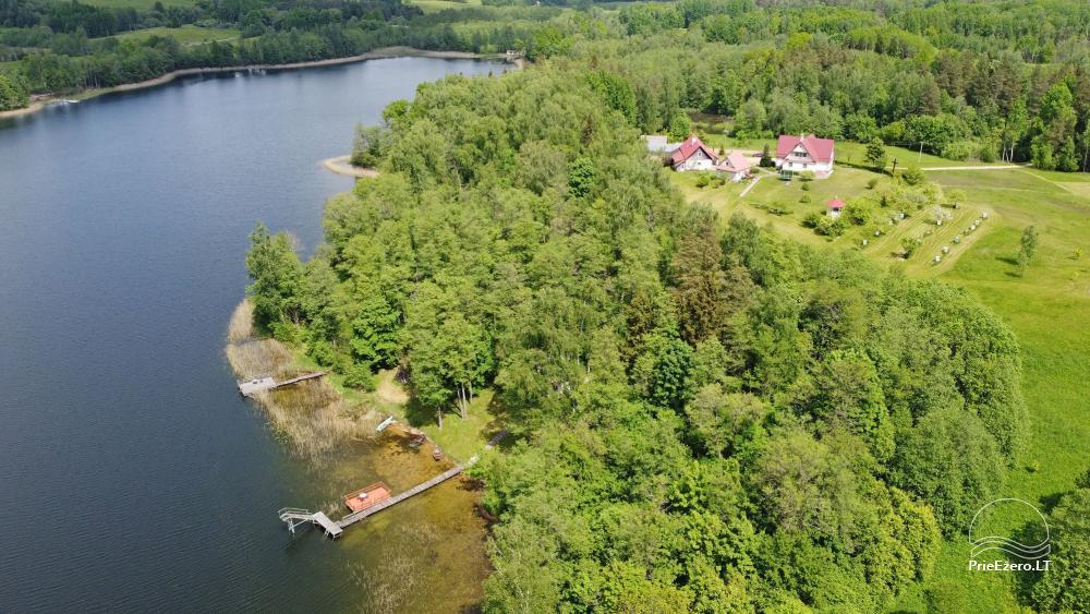Brīvdienu mājas viensētā Čičiris ezera krastā - Lauryno sodyba - 3