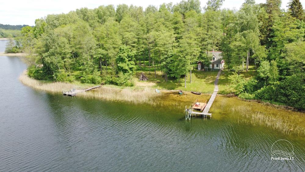Brīvdienu mājas viensētā Čičiris ezera krastā - Lauryno sodyba - 8