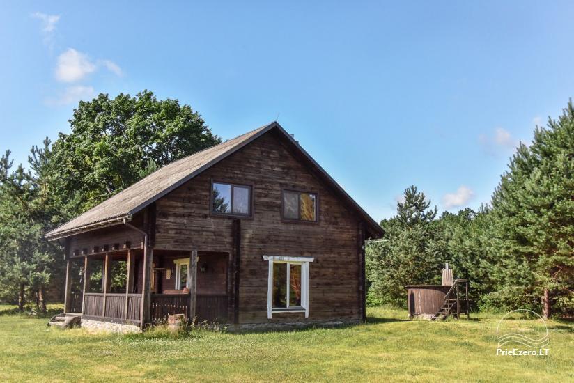 Lauku māja Sartu ezera krastā Zarasu rajonā Lapėnų Sodyba - brīvdienu mājas - 23