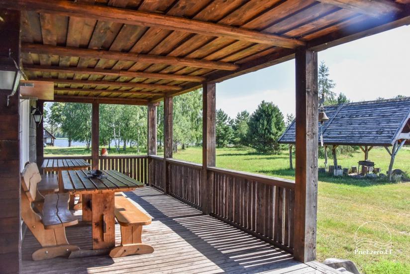 Lauku māja Sartu ezera krastā Zarasu rajonā Lapėnų Sodyba - brīvdienu mājas - 24