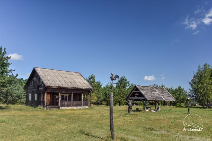 Lauku māja Sartu ezera krastā Zarasu rajonā Lapėnų Sodyba - brīvdienu mājas - 22