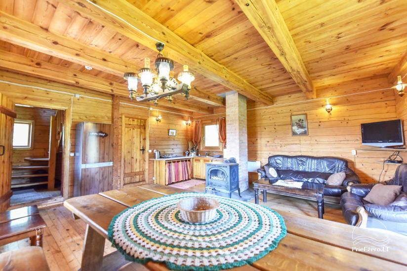 Lauku māja Sartu ezera krastā Zarasu rajonā Lapėnų Sodyba - brīvdienu mājas - 27