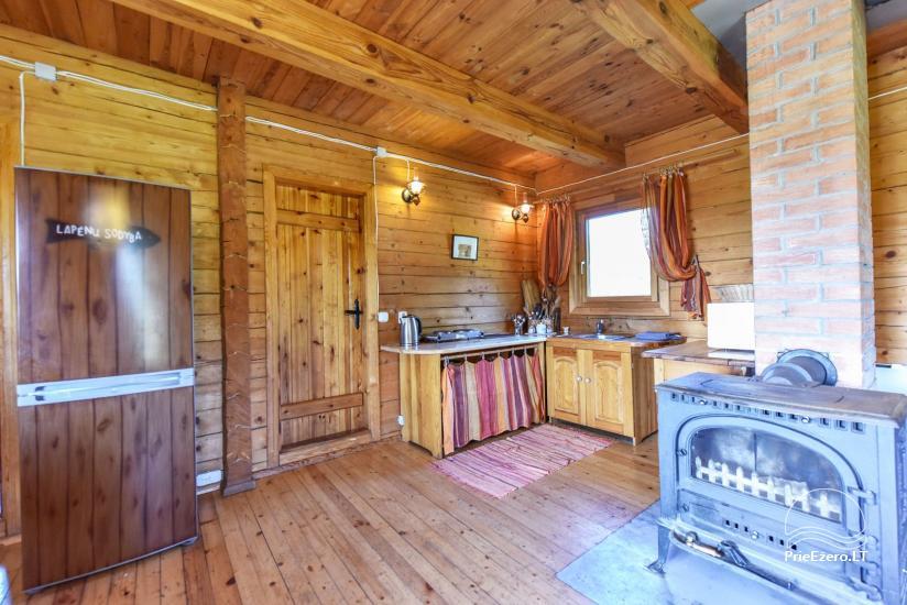 Lauku māja Sartu ezera krastā Zarasu rajonā Lapėnų Sodyba - brīvdienu mājas - 28