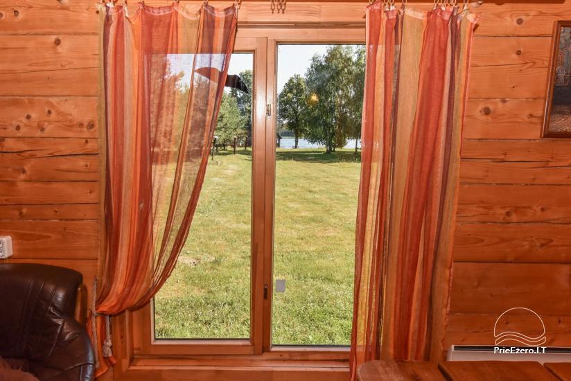 Lauku māja Sartu ezera krastā Zarasu rajonā Lapėnų Sodyba - brīvdienu mājas - 29