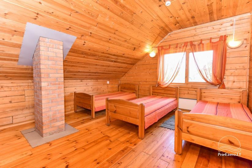 Lauku māja Sartu ezera krastā Zarasu rajonā Lapėnų Sodyba - brīvdienu mājas - 31