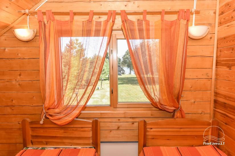 Lauku māja Sartu ezera krastā Zarasu rajonā Lapėnų Sodyba - brīvdienu mājas - 32