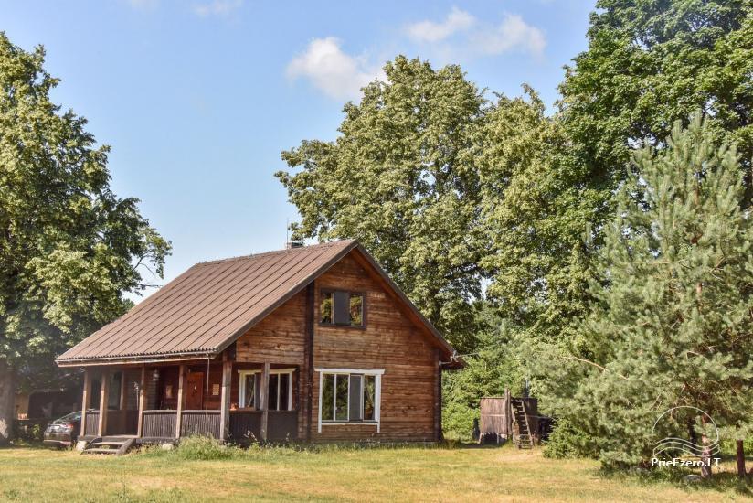 Lauku māja Sartu ezera krastā Zarasu rajonā Lapėnų Sodyba - brīvdienu mājas - 34