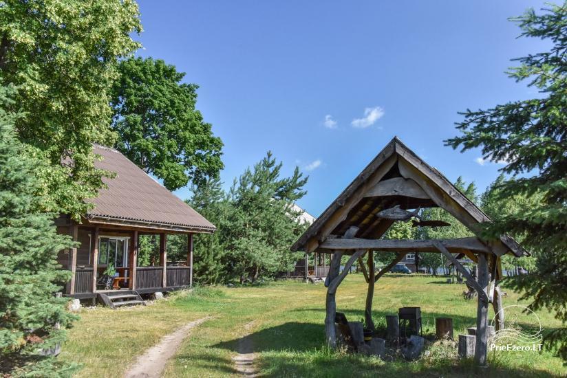 Lauku māja Sartu ezera krastā Zarasu rajonā Lapėnų Sodyba - brīvdienu mājas - 1