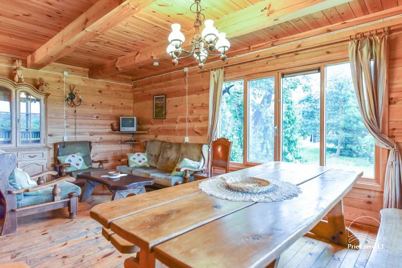 Lauku māja Sartu ezera krastā Zarasu rajonā Lapėnų Sodyba - brīvdienu mājas - 37