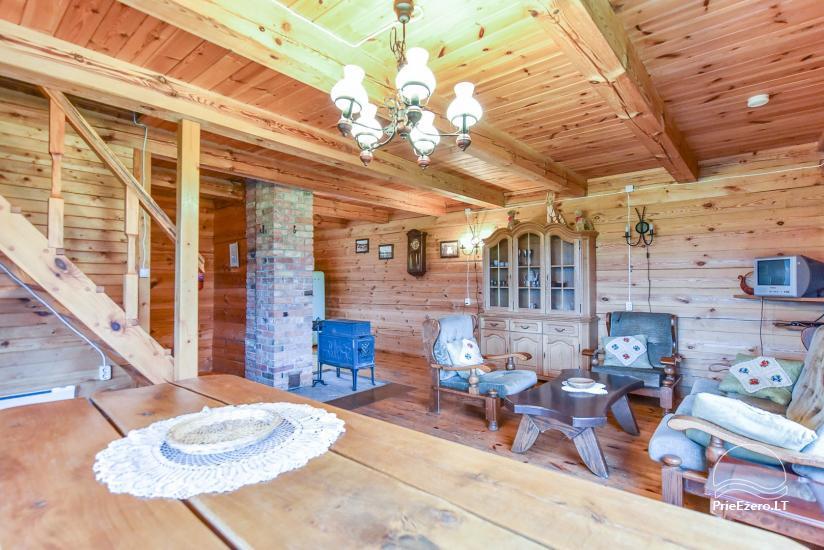 Lauku māja Sartu ezera krastā Zarasu rajonā Lapėnų Sodyba - brīvdienu mājas - 38