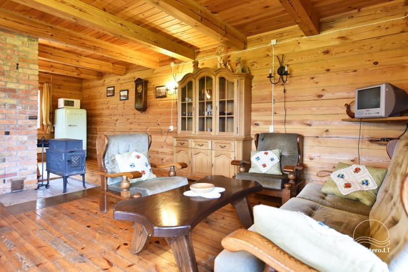 Lauku māja Sartu ezera krastā Zarasu rajonā Lapėnų Sodyba - brīvdienu mājas - 39