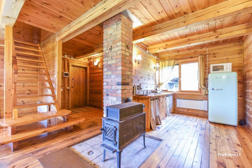 Lauku māja Sartu ezera krastā Zarasu rajonā Lapėnų Sodyba - brīvdienu mājas - 41
