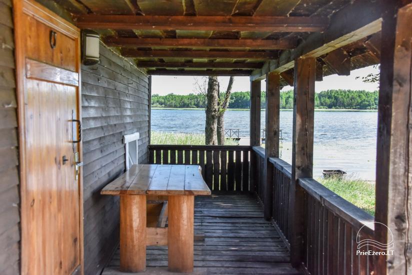 Lauku māja Sartu ezera krastā Zarasu rajonā Lapėnų Sodyba - brīvdienu mājas - 53