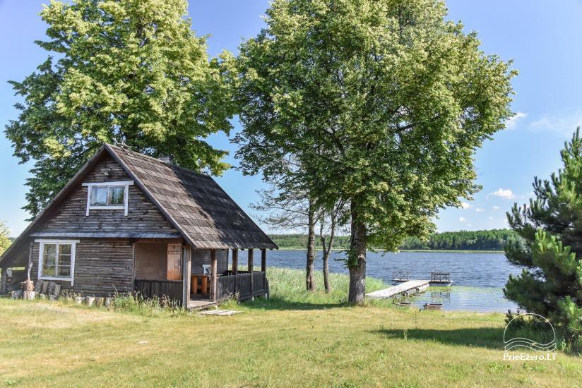 Lauku māja Sartu ezera krastā Zarasu rajonā Lapėnų Sodyba - brīvdienu mājas - 52