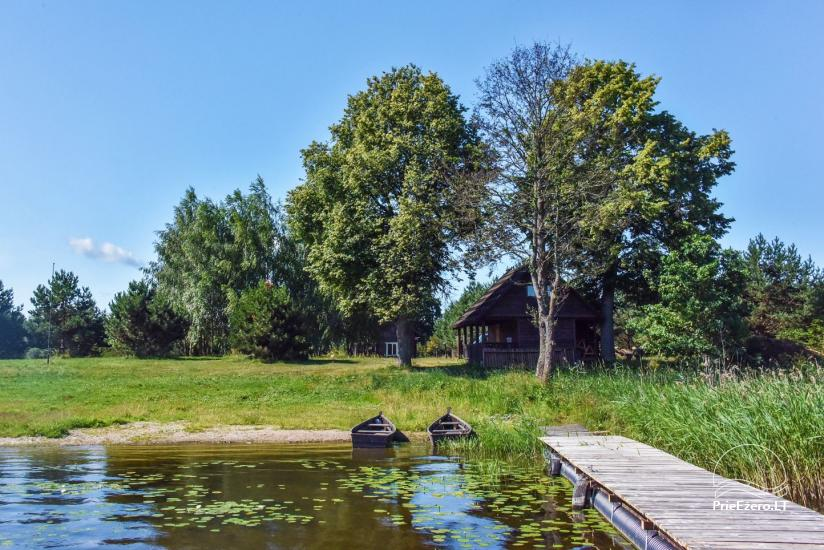 Lauku māja Sartu ezera krastā Zarasu rajonā Lapėnų Sodyba - brīvdienu mājas - 2