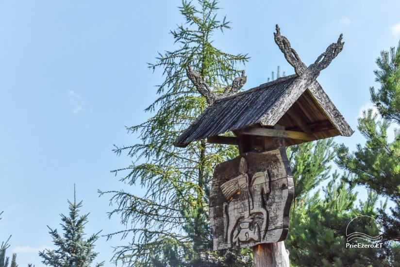 Lauku māja Sartu ezera krastā Zarasu rajonā Lapėnų Sodyba - brīvdienu mājas - 16