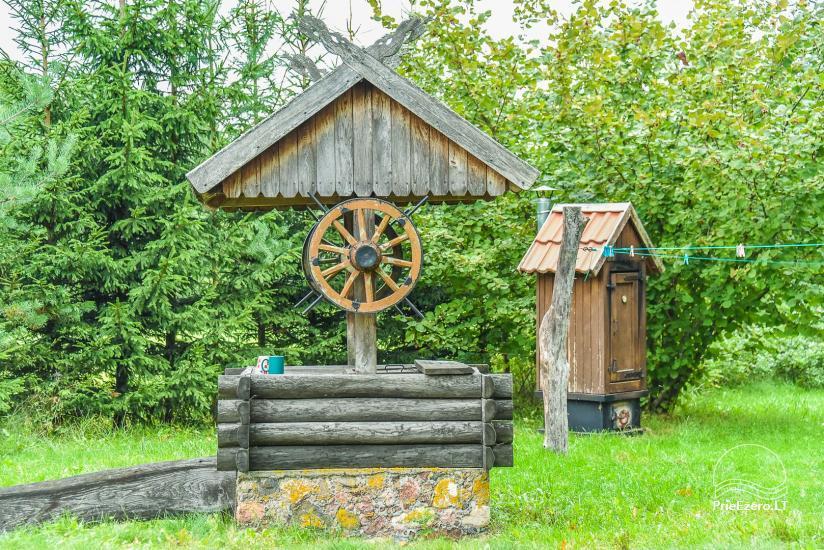 Lauku māja Sartu ezera krastā Zarasu rajonā Lapėnų Sodyba - brīvdienu mājas - 17