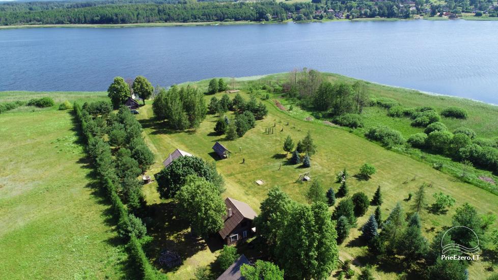 Lauku māja Sartu ezera krastā Zarasu rajonā Lapėnų Sodyba - brīvdienu mājas - 5