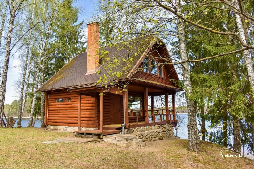 Brīvdienu māja ezera krastā līdz 10 personām