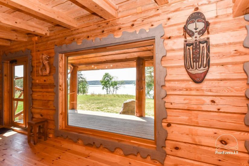 Lauku sēta Vencavas ezera krastā - 11
